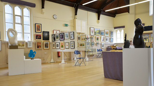 Photo of art exhibition