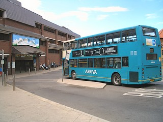 Bircherley Green shopping centre and bus station