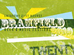 Bramfield Beer and Music Festrival graphic