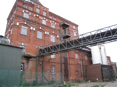Photo of part of Hertford Brewery