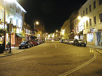 Fore Street looking East from The Shire Hall