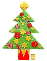 Christmas tree graphic