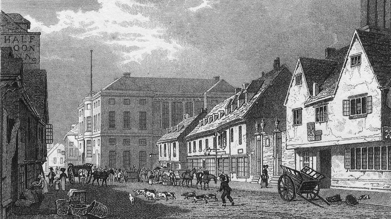 Print of Fore Street