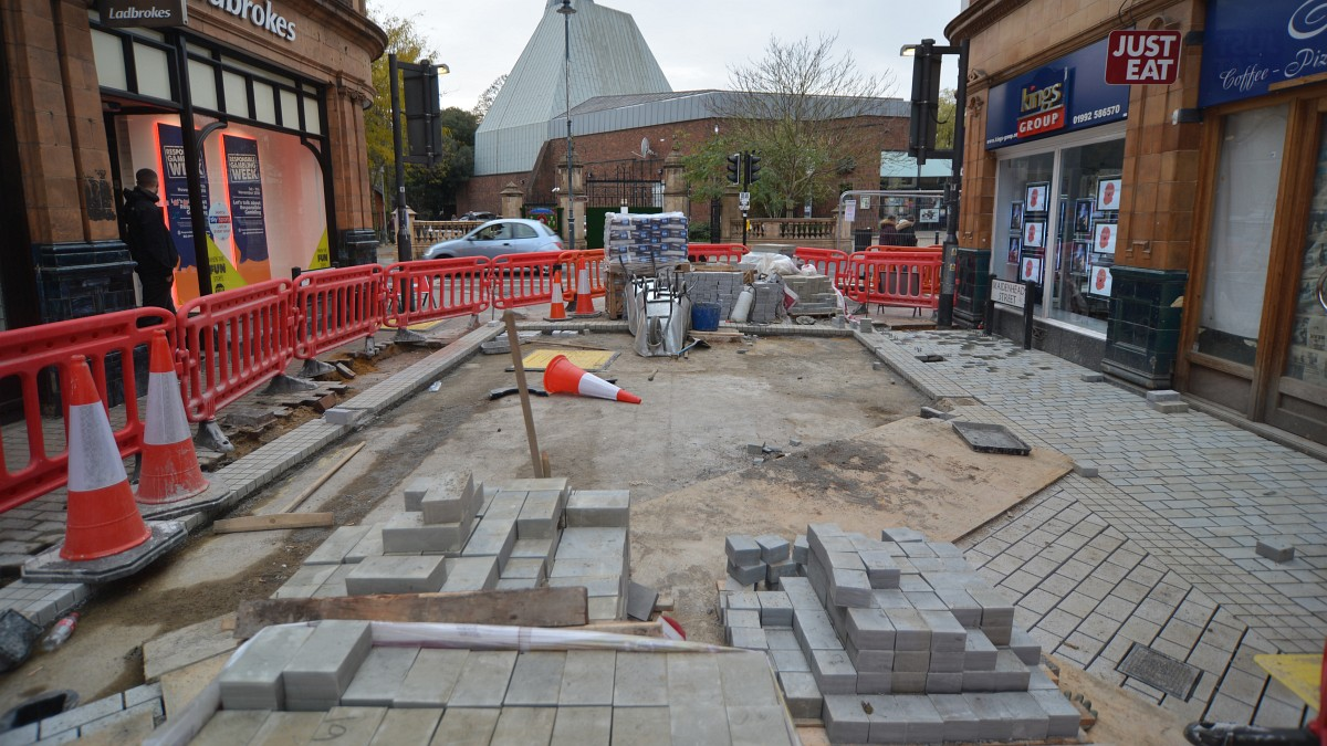 Photo of works in Maidenhead Street