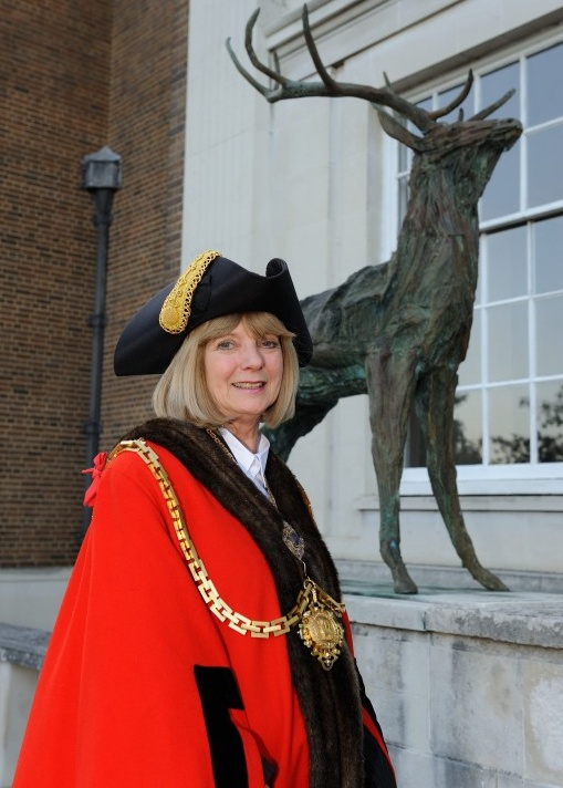 Photo of the mayor, Linda Radford