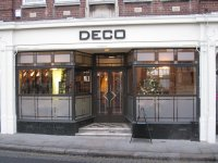 Deco in Parliament Square