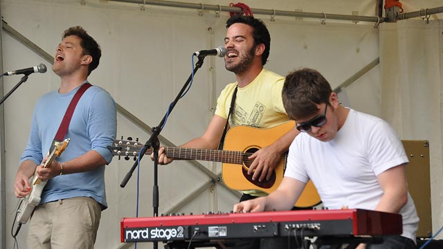 Photo of Juan Zelada performing at last year's Rock At The Castle