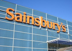 Front of Sainsbury's Store in London Colney